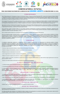 Convocatoria facilitador