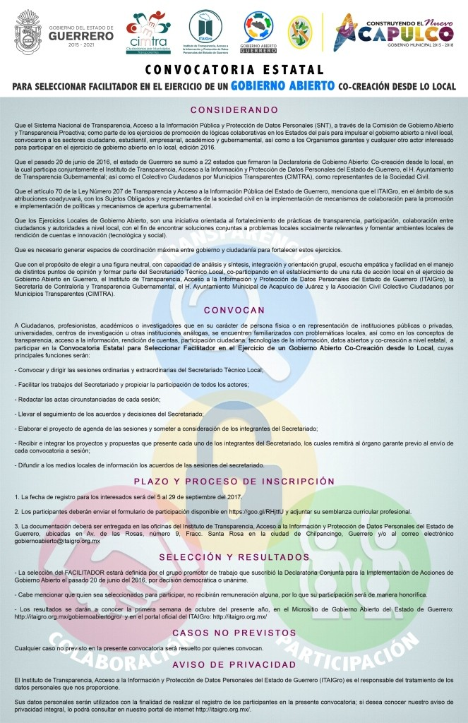 Convocatoria facilitador - copia